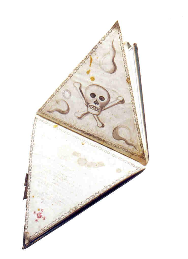 18th Century French (Grand Orient) masonic writing wallet